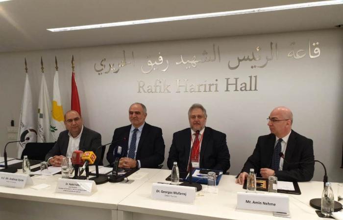 الاعلان عن مؤتمر ملتقى الاعمال العربي القبرصي اواخر آذار في لارنكا