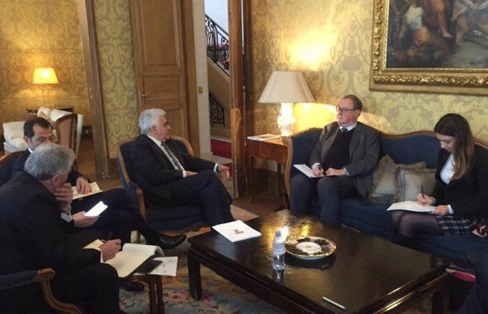 حتي في باريس.. سيدر والإصلاحات محور لقاءاته مع المسؤولين