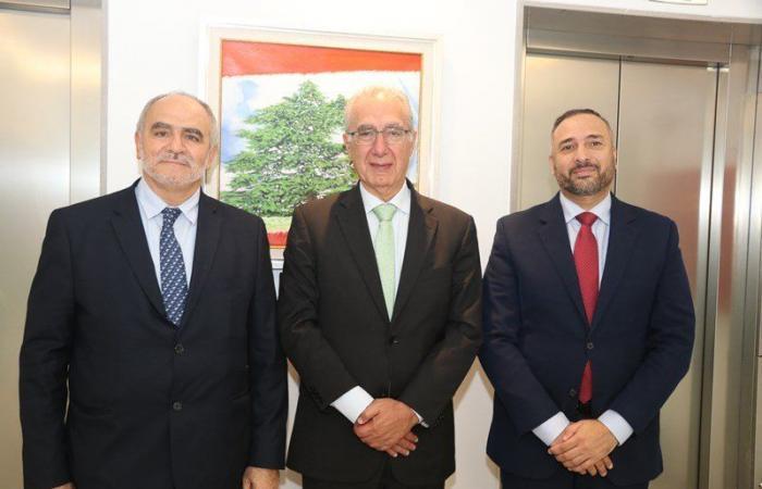 فهد عرض ورئيس الغرفة العربية البرازيلية العلاقات الاقتصادية