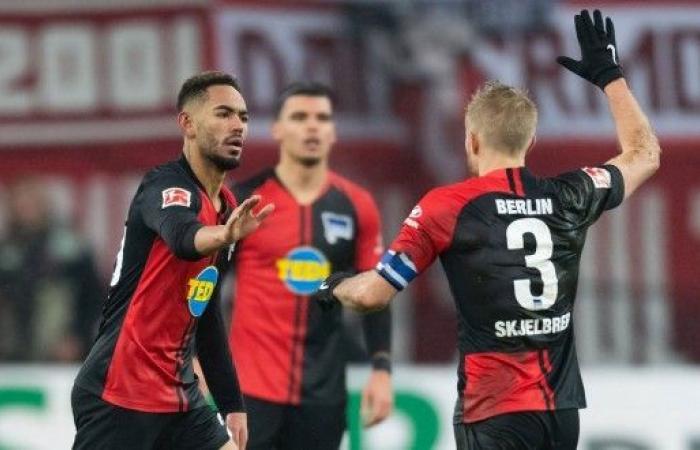 هيرتا برلين يفلت من هزيمة ساحقة في الدوري الألماني