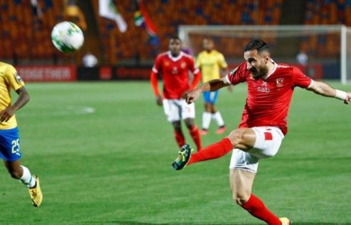 التونسي معلول يقود الأهلي لفوز ثمين على صنداونز في دوري أبطال إفريقيا