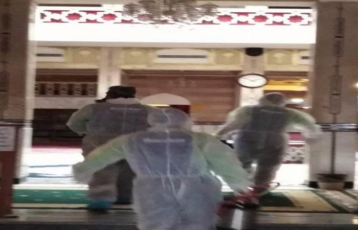 الوحدات الصحية في جمعية المبرات عقمت مساجدها