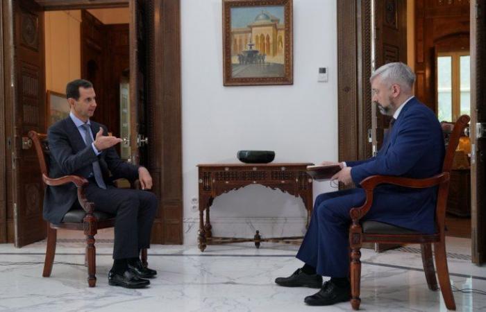 """سوريا   بشار الأسد يتوعد مناطق """" قسد """" بمصير إدلب"""