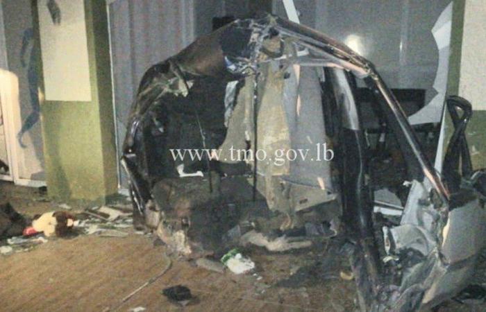 5 جرحى باصطدام سيارة بعمود كهرباء في راشيا