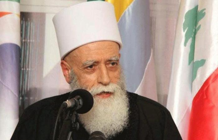 شيخ العقل: قبول العذر عن الاجتماعات الدينية وإقامة الجمعة