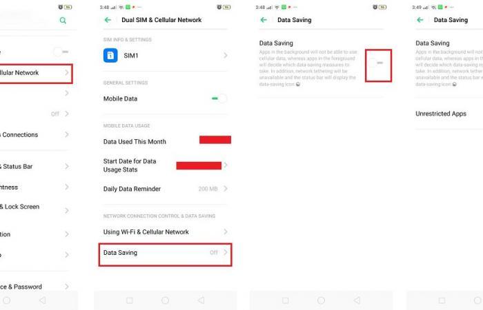3 طرق لتقليل استهلاك البيانات في هواتف أندرويد