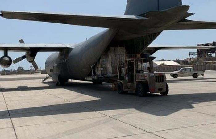 اليمن | وصول إمدادات طبية لمطار عدن لمواجهة فيروس كورونا