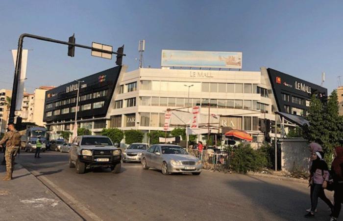 الأمن العام واصل حملة تعقيم مجمعات للنازحين في صيدا