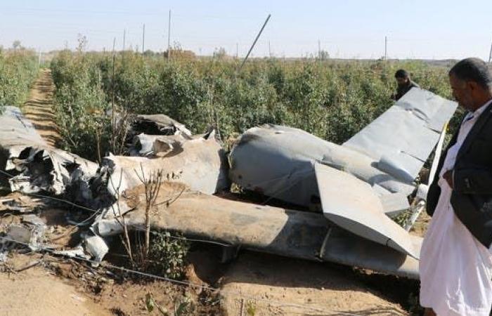 اليمن   اليمن.. إسقاط طائرتين مسيّرتين للحوثيين في صرواح