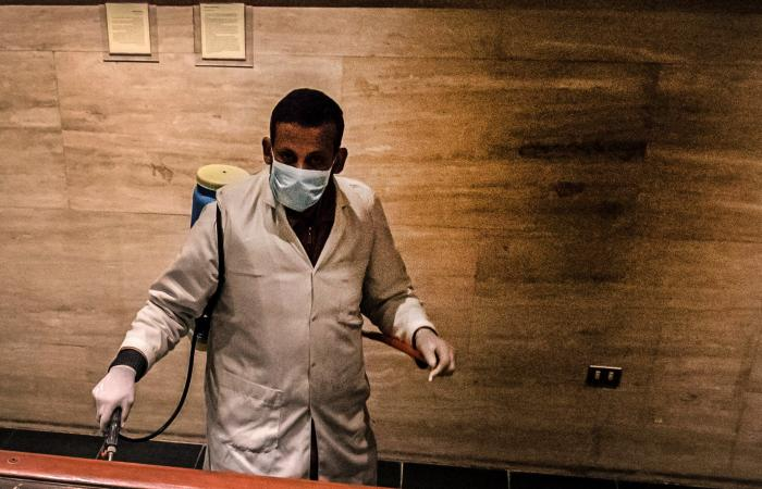 مصر   بالصور.. تعقيم مومياوات في المتحف المصري بسبب كورونا