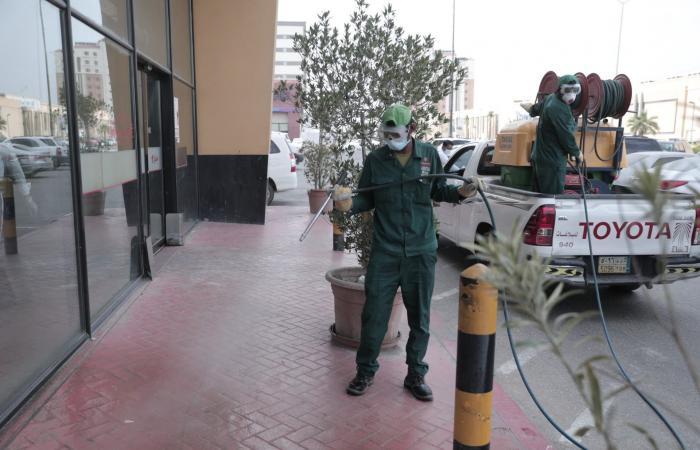 السعودية | أمانات السعودية تنفذ حملات تعقيم وتطهير لمكافحة كورونا