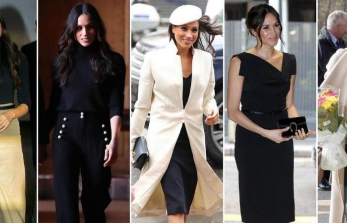 إليك الألوان الرسمية الأبرز في خزانة أزياء ميغان ماركل