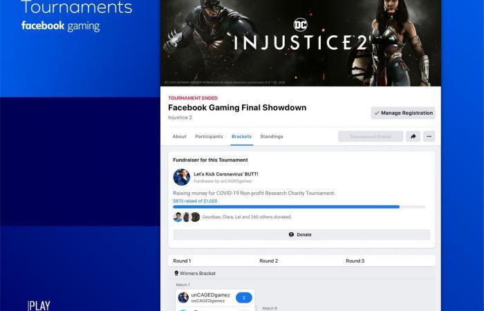 ألعاب فيس بوك تتيح تنظيم البطولات والمسابقات عن بعد