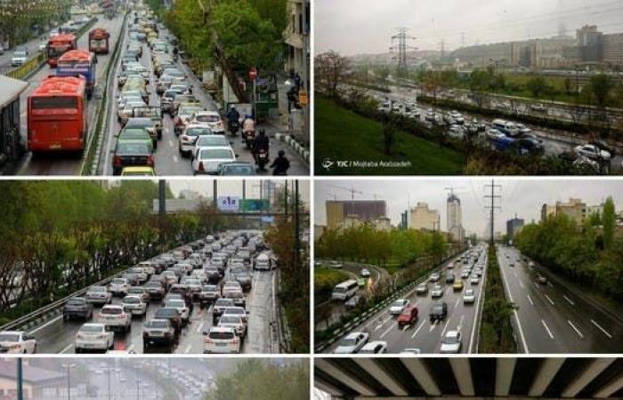 إيران | بالصور.. زحام مروري بإيران بعد رفع جزئي للحظر