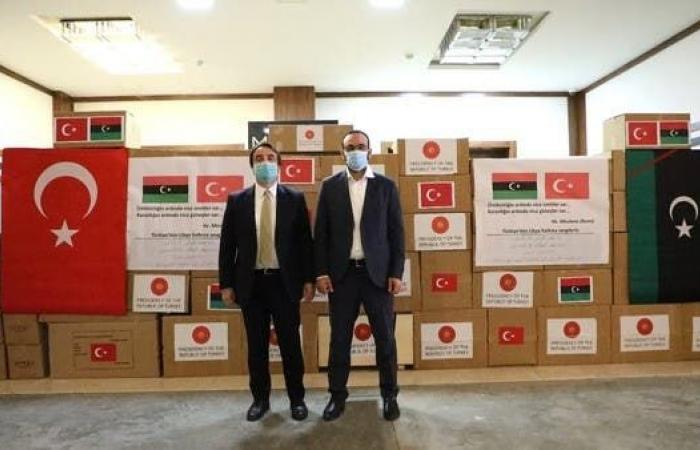 تركيا ترسل مساعدات طبية إلى ليبيا..والسراج يخفي وجهتها