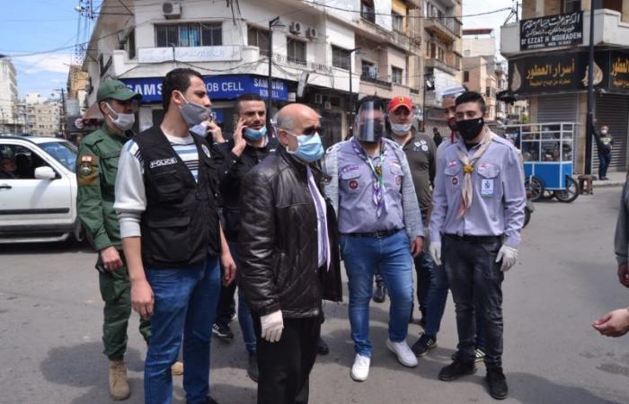 بلدية طرابلس بدأت بتوزيع القسائم الغذائية