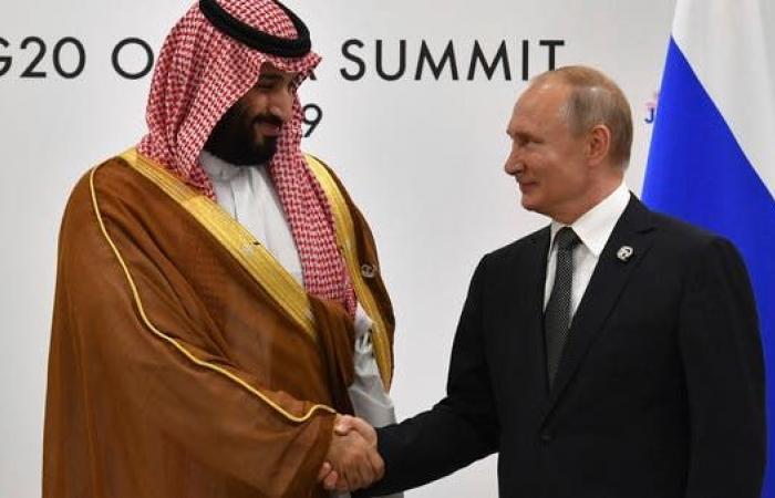 السعودية | ولي العهد السعودي يبحث مع بوتيناستقرار أسواق الطاقة