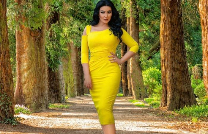سمية الخشاب تثير الدهشة برقصها على أغنية طليقها أحمد سعد!