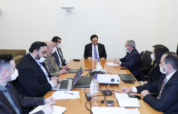 دياب اطلع من اللجنة المعنية عن أسباب تأخير توزيع المساعدات