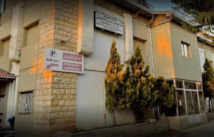 مستشفى بشري: 70 نتيجة سلبية وواحدة إيجابية