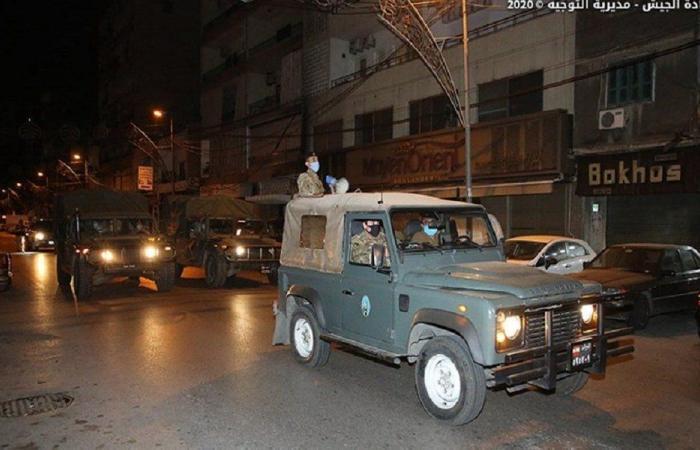 بالصور: الجيش يعلن محصلة التدابير الأمنية خلال نيسان