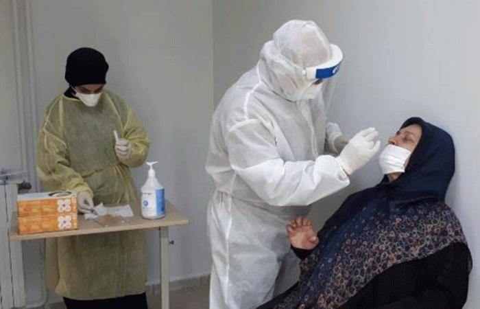 70 فحص PCR في مستشفى قرطبا الحكومي