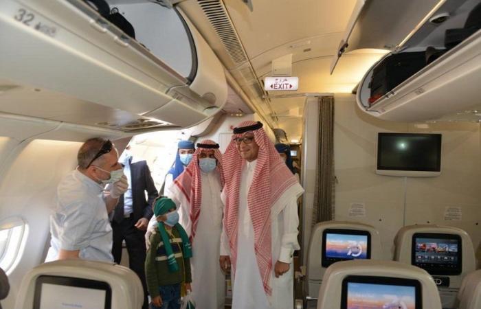 عودة 88 مواطنًا سعوديًا إلى المملكة