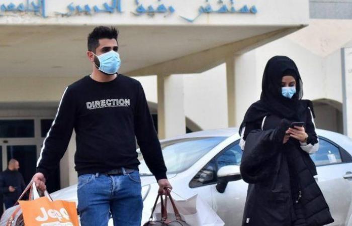 """مستشفى الحريري: إصابتان بـ""""كورونا"""" و10 حالات شفاء"""