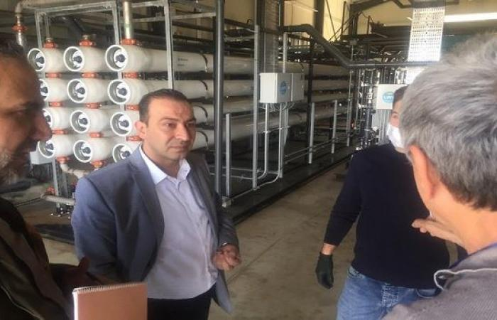 بعد إنبعاث الروائح الكريهة منه... وزير الزراعة في معمل أجبان والبان لبنان