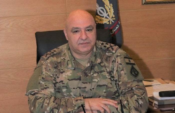 قائد الجيش تفقد ثكنة فرنسوا الحاج في مرجعيون