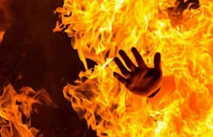 اصابة ام وطفلتها جراء حريق في عين الحلوة