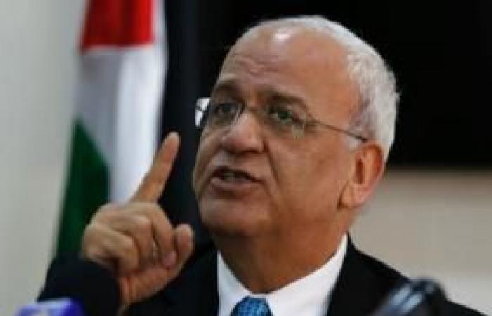 فلسطين   عريقات يحذر من لجوء إسرائيل إلى العنف لتمرير مخطط الضم