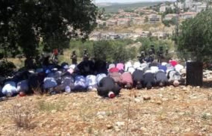 فلسطين | قوات الاحتلال تمنع صلاة الجمعة في أراضي حارس