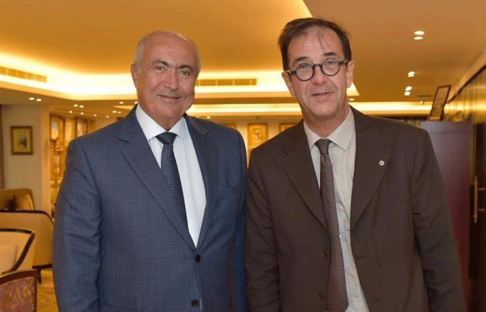 مخزومي التقى فوشيه: فرنسا تقف دائمًا إلى جانب لبنان