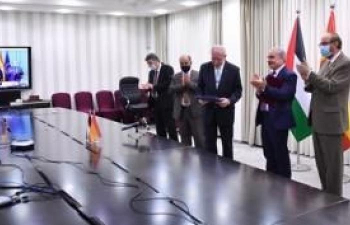 فلسطين | الحكومة توقع اتفاقيتي دعم مع إسبانيا وألمانيا بقيمة 103 ملايين يورو
