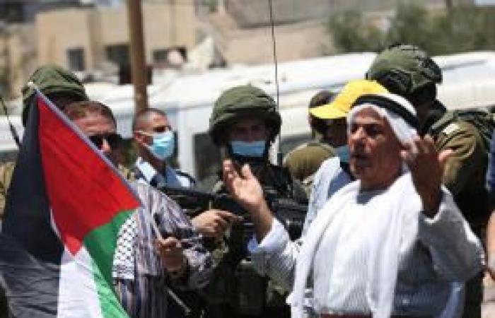 فلسطين | صور| تظاهرات في الضفة الغربية وقطاع غزة ضد مخطط الضم الإسرائيلي