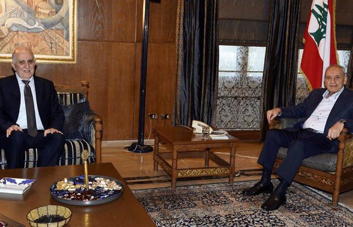 بري عرض الأوضاع مع وزير الداخلية