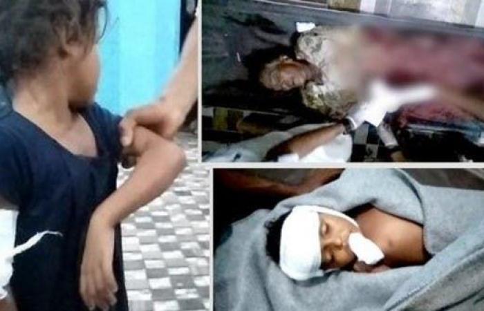 """اليمن   صور صعبة.. """"الحوثي"""" تحول عرساً في الحديدة إلى مأتم"""