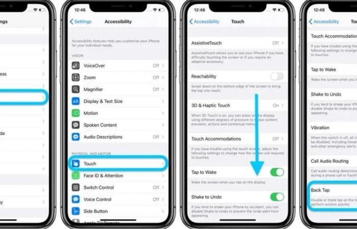 آيفون يستجيب لنقرات على جزء iOS 14 الخلفي.. كيف تستخدمه؟