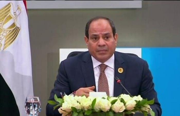 مصر | السيسي: أمن مصر القومي مرتبط ارتباطاً وثيقاً بمحيطها الإقليمي