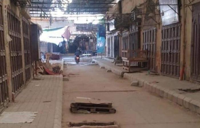 تجار سوق القمح في طرابلس يقفلون متاجرهم! (صور)