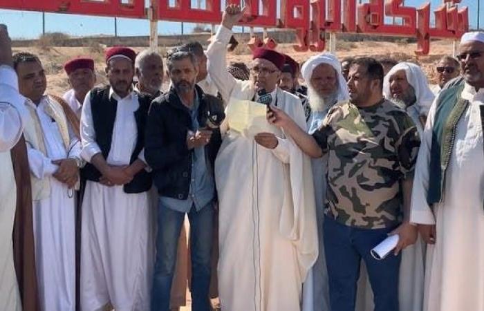 تهديد بإعادة إقفال حقول النفط إذا استخدم عائده لقتل الليبيين