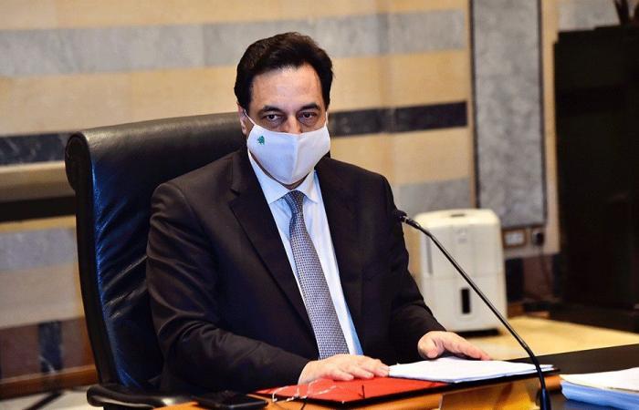 دياب يلقي كلمة لبنان في مؤتمر بروكسل عند الحادية عشرة