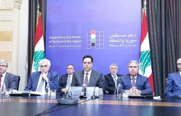 دياب: لتحييد لبنان عن أي عقوبات تفرض على سوريا