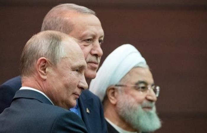 سوريا   دون سوريين.. بوتين وأردوغان وروحاني يبحثون وضع سوريا