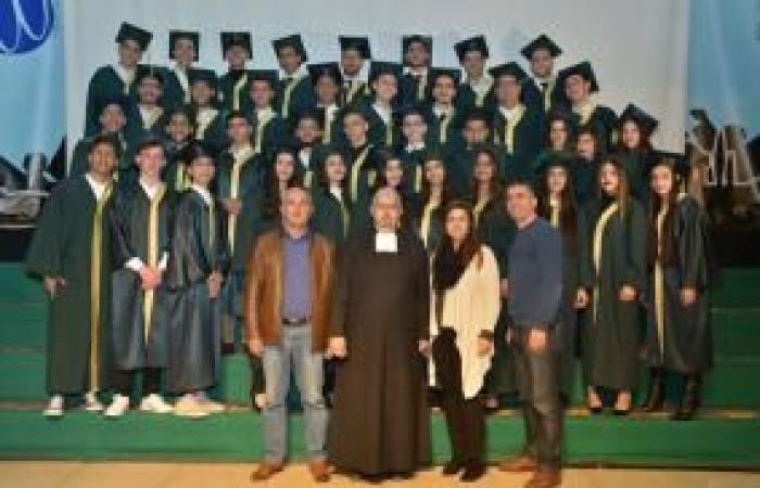 فلسطين   مدرسة الفرير الثانوية في بيت لحم تحتفل بتسليم شهادات الثانوية العامة