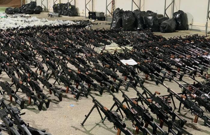 اليمن | صور.. التحالف يحبط عمليتين لنقل أسلحة إيرانية للحوثيين
