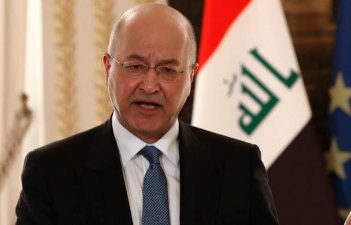 العراق | رئيس العراق: ماضون في بناء دولة تضبط السلاح المتفلت
