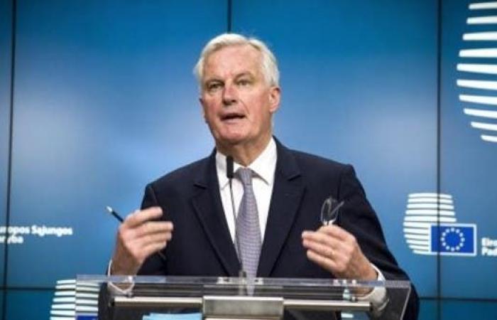 """بارنييه: """" تباينات هائلة"""" في مفاوضات بريكست مع الأوروبي"""