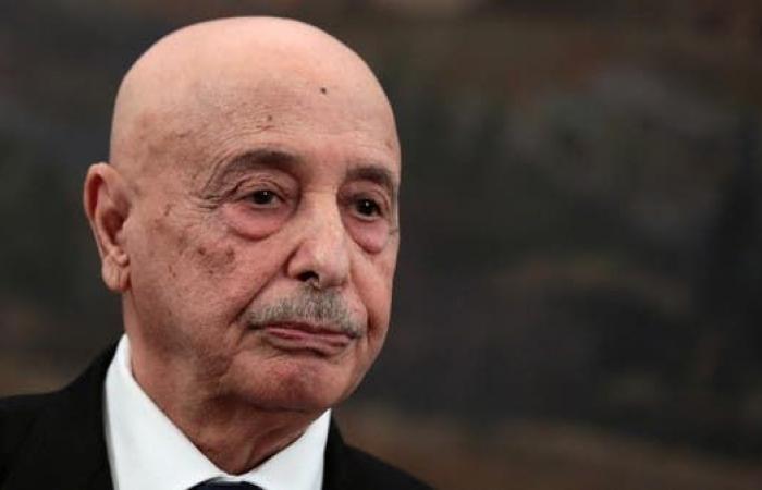 رئيس مجلس النواب الليبي عقيلة صالح يصل موسكو
